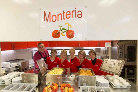 Das Monteria-Team