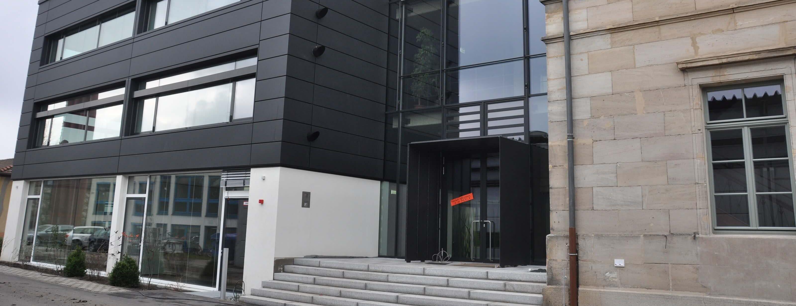 MOS-Gebäude in Nürnberg