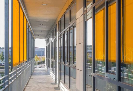 Fassadendetails am Neubau